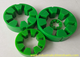 High Tensile Strength Falk Coupling R10 - R80 With Green Polyurethane 97 Shore  A
