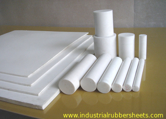 Moulded Or Skived PTFE Sheet , Anti Corrosion PTFE Plastic Sheet For Seal / Gasket