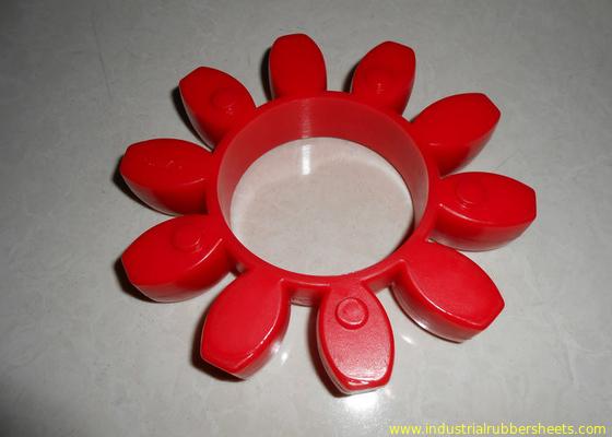 Çin Dirençli Kırmızı Poliüretan Kavrama, 98 Shore A GR veya PU Kavrama Distribütör